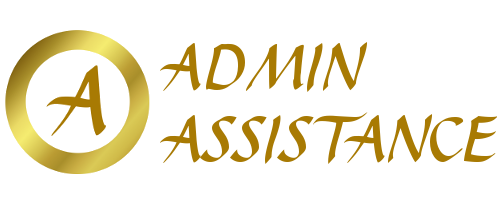 Admin Assistance Website Logo