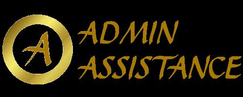 Admin Assistance Website Logo